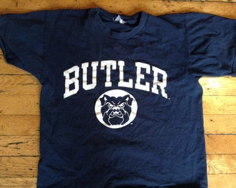 Vintage Butler Bulldogs Champion t shirt