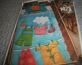 Vogue Pattern 1475 Baby Crib Quilt