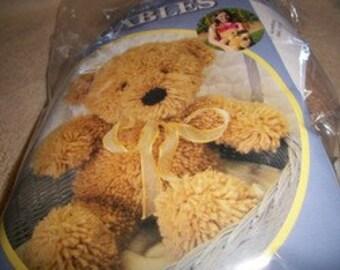 Latch Hook Huggables: Teddy Stuffed Animal Kit