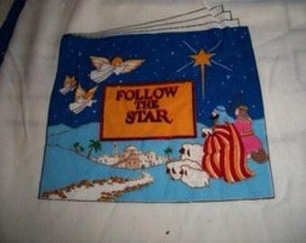 Follow The Star Fabric Panels