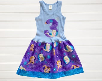 Let It Go Dress Dress Baby Toddlers 6 12 18 24 Months Girls 2 3 4 5 6 8