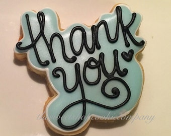 Thank you cookies 3 dozen