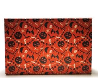 Basic Halloween Empty Magnetic Makeup Palette Eyeshadow Organizer Storage - Blood Moon