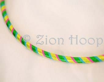 "sturdy Toddler hula hoop / HDPE tubing / 25"" diameter / CUSTOMIZE your COLORS"