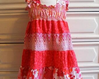 Tiered Summer Dress   3T -4T