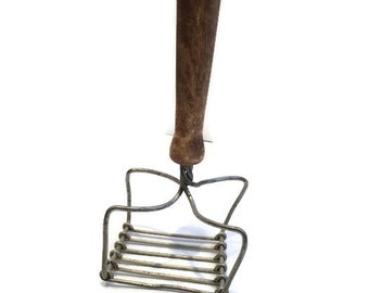 Handmade Potato Masher