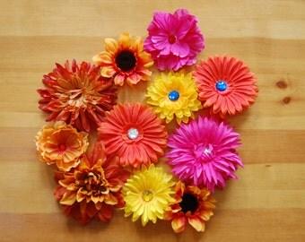 Flower Barrette, Large