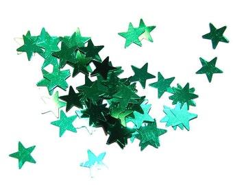 Green Star Glitter Medium - 1 Ounce