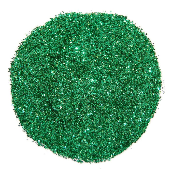 Lime Green SOLVENT RESISTANT Glitter 0.015 Hex - 1 Fl