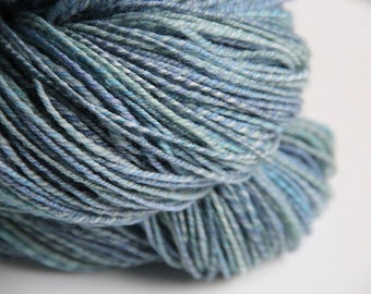 Handspun Yarn: Blue Sky