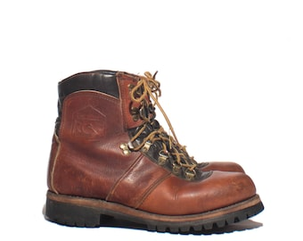 8 M | Men's DEXTER Hiking Boots Brown Mountaineering Trail Boots