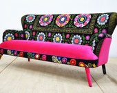 Suzani 3-seater sofa - Winter