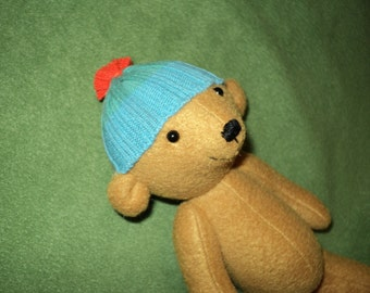 Teddy with cap