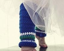 Leg Warmers Crochet Pattern: 'Lil' Nuck Sport' - with Crochet Ear flap Hat, Crochet Hockey Socks, Vancouver Canucks