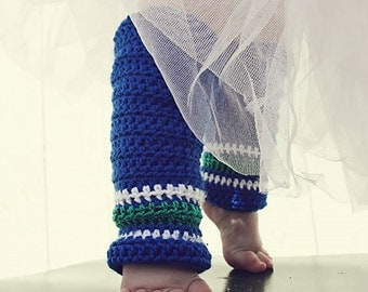 Leg Warmers Crochet Pattern: 'Lil' Nuck Sport' - Ear flap Hat with Crochet Hockey Socks, Canucks