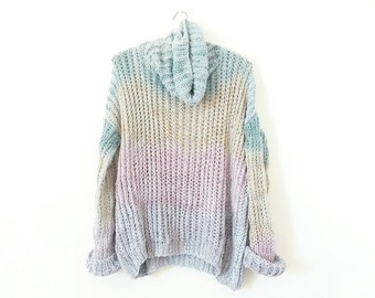 Pastel Tye Dye Sweater.