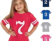 Game Day Birthday Tee - 2nd 3rd 4th 5th Birthday Shirt - Fan Football Tee - Birthday Jersey