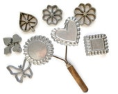 Patty Shell Rosette Timbale Irons Molds Double Handle Nordic Ware Recipes Instructions and Box