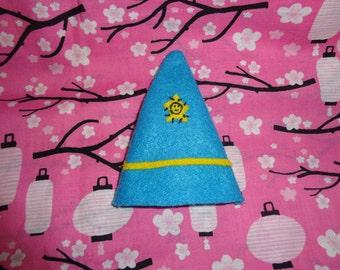 Mini Blue Wizard Hat