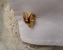 Goat cufflinks,limit edition,original cufflinks,punk cufflinks,handmade men jewelry gold cufflinks, cuff links