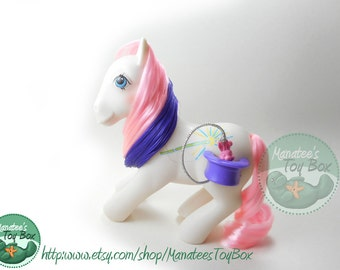 My Little Pony Bunny Hop: Amazing Pink Hair by Hasbro 1990