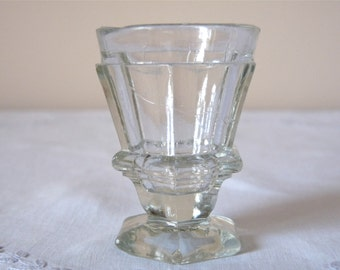 19th One Shot Glass French bar 19th century - Lovely french antique glass French Vintage Glass
