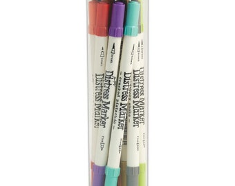 ON SALE NOW -- Tim Holtz 12 Pack Distress Markers - 12 Colours
