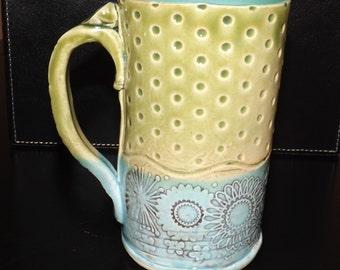 Tall Coffee Cup Mug