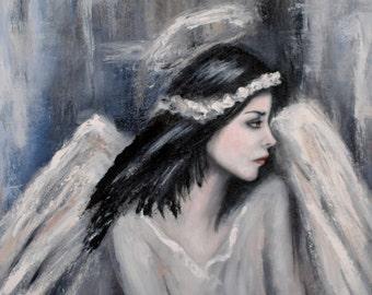 Angelic. Original Painting by Kelly Berkey 20x20