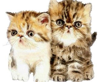 Cute Kittens, Kitten Image, Kitten Cutout,Large Kittens Image,Template, Kids Nursery Room Decor, Wall Art, Kittens, Cat Template