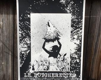 Le Butcherettes Tour Poster