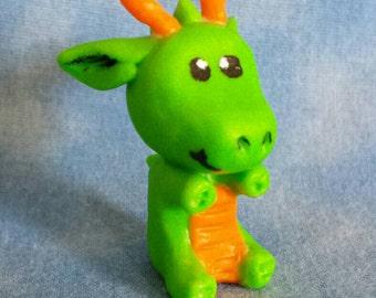 Gurinshedo (Green Shade), the lucky dragon.