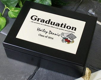 Personalized Graduation Keepsake Box -gfy712467