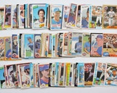 New York Mets - Lot of 100 Assorted Vintage Baseball Cards