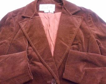 Late 1960's velvet jacket