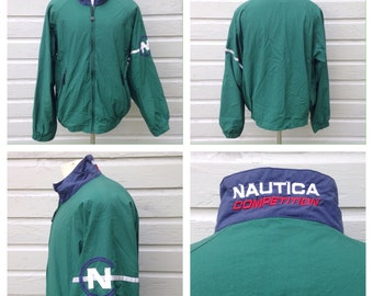 1990's Nautica Competition jacket, large