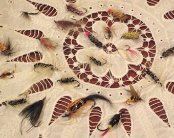 Vintage Fishing Flies...Cutest Little Ole' Fish Flies