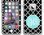 Monogrammed Lifeproof® Phone Case Decal, Personalized Lifeproof® Skin, Lifeproof® Fre, Lifeproof® Nuud, iPhone 5/5C/6/6Plus Clover