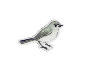 Blue-gray Gnatcatcher Bird Magnet / Nature Art / Refrigerator Magnet / Office Magnet / Party Favor / Small Gift