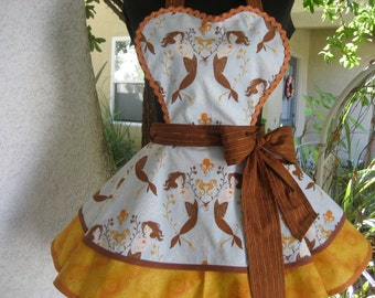 Mendocino Mermaid's Retro Hostess Apron