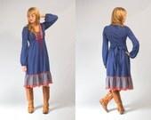 Folk hippie dress size XS to small