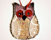 Burlap Owl Craft Kit...