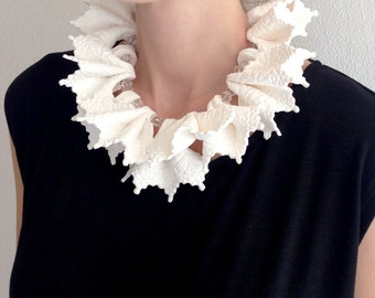 Lace Collar, Statement Necklace, Lace Necklace, Statement Piece, Costume Jewelry, Bold Jewelry