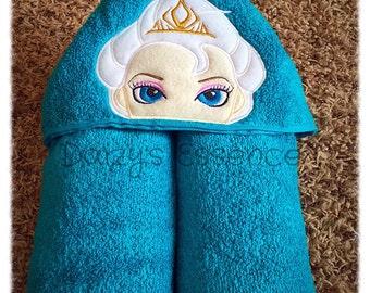 Elsa Hooded Towel