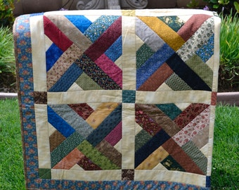Patchwork Paddle Wheel Quilt