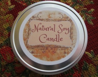 Soy Candle ~  Handmade Candle ~ Eco Friendly ~ Planet Friendly ~ Scented Homemade Candle ~ Massage Candle From Distracting Me