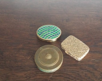 Old Cosmetic Compacts