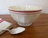 French Bowl for Cafe au Lait  St Clement  Lunéville French vintat, latte bowl