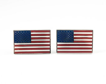 US Flag Cufflinks