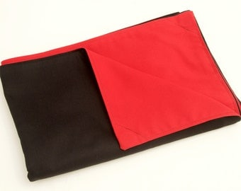 """View Camera Focusing Cloth Dark Cloth New 5""""x4"""" 10""""x8"""" Weighted"""